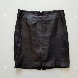 Bebe leather mini skirt